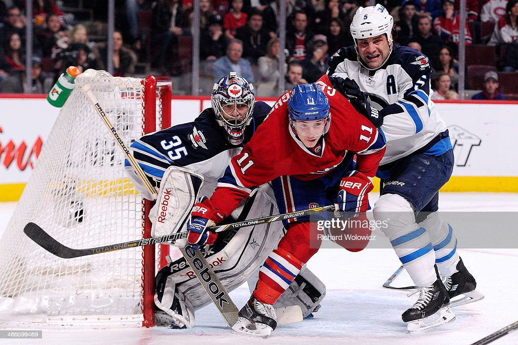 Winnipeg Jets v Montreal Canadiens