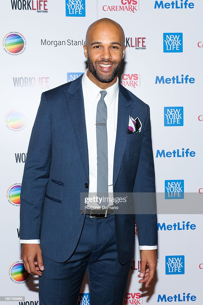 Mark Tallman attends the 11th Annual Work Life Matters gala at Club 101 on October 24, 2013 in New York City.