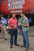 Mark Tatum NBA Deputy Commissioner attends the 2016 NBA Las Vegas Summer League on July 12 2016 at the Cox Pavillion in Las Vegas Nevada NOTE TO USER...