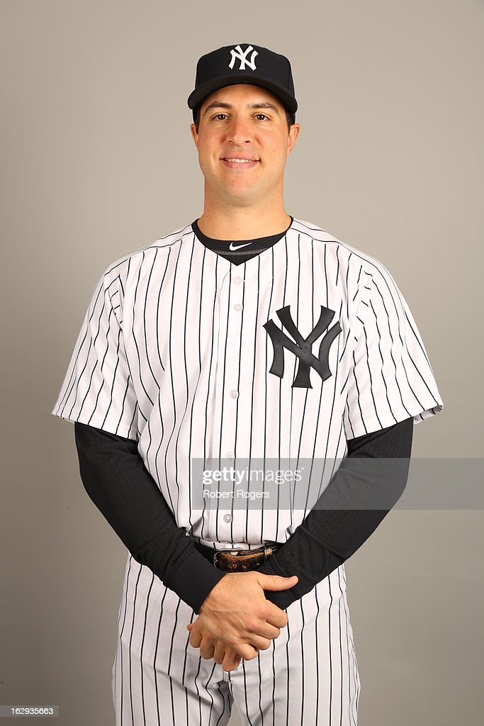 Mark Teixeira #25 of the New York Yankees poses during Photo Day on February 20, 2013 at George M. Steinbrenner Field in Tampa, Florida.