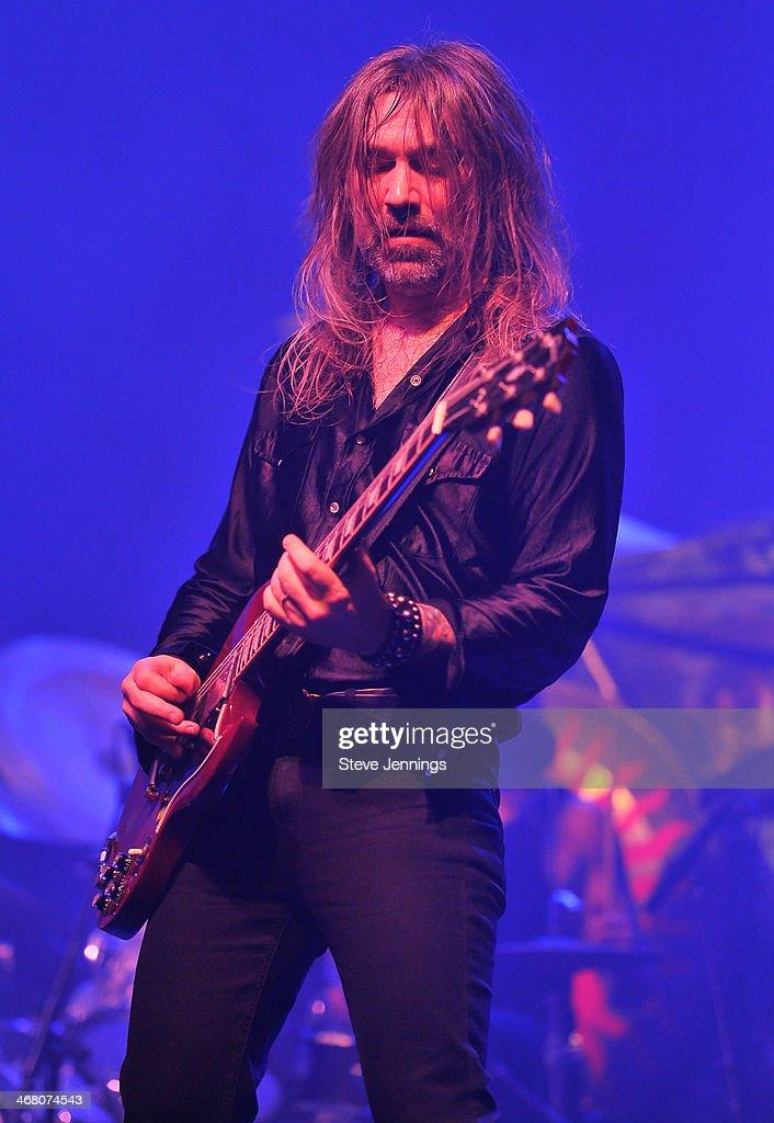 Mark Thomas Baker of Orchid performs at Kirk Von Hammett's Fear FestEvil at Grand Regency Ballroom on February 8, 2014 in San Francisco, California.
