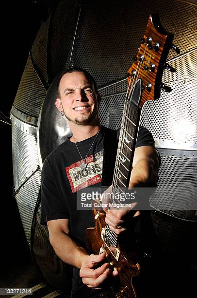 Mark Thomas Tremonti best known as the lead guitarist of rock bands Creed and Alter Bridge during a photoshoot at London Astoria June 6 2006