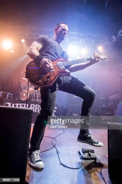 Mark Tremonti of Alter Bridge performs in concert at Razzmatazz on October 26 2017 in Barcelona Spain