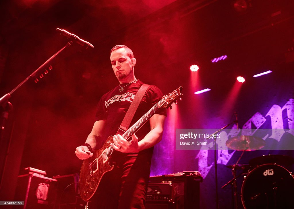 Mark Tremonti of Tremonti performs at Iron City on May 21, 2015 in Birmingham, Alabama.