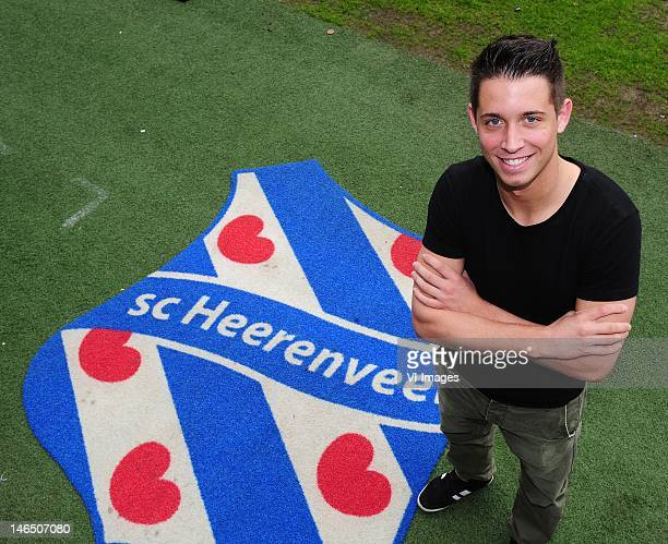 Mark Uth sc Heerenveen new Player is unveiled as new player of SC Heerenveen during a press conference at the Abe Lenstra stadium on June 13 2012 in...