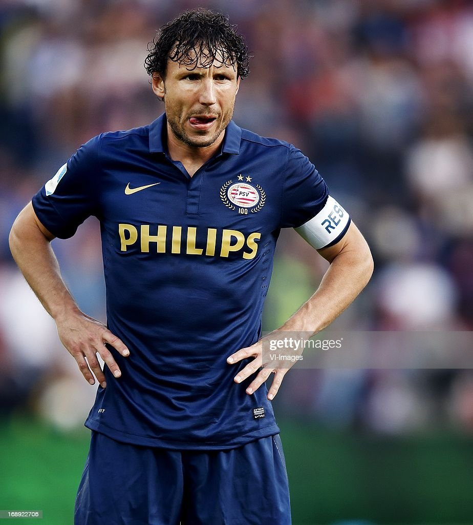 Mark van Bommel during the Dutch Cup final match between AZ Alkmaar and PSV Eindhoven on May 9, 2013 at the Kuip stadium in Rotterdam, The Netherlands.