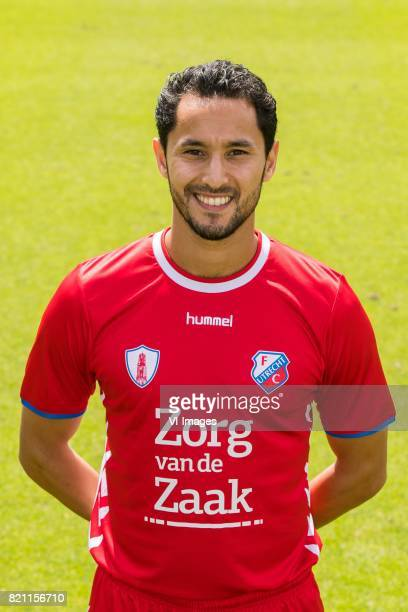 Mark van der Maarel during the team presentation of FC Utrecht on July 22 2017 at Sportcomplex Zoudenbalch in Utrecht The Netherlands