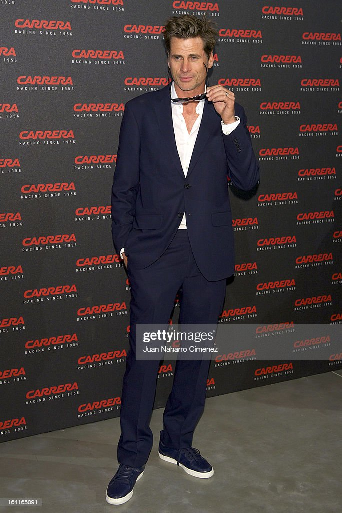 Mark Vanderloo attends 'Carrera Ignition Night' party at Matadero on March 20, 2013 in Madrid, Spain.