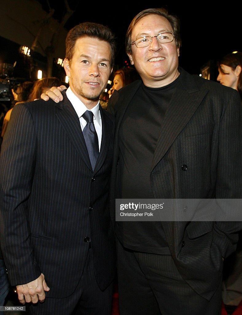 Mark Wahlberg and Lorenzo di Bonaventura producer