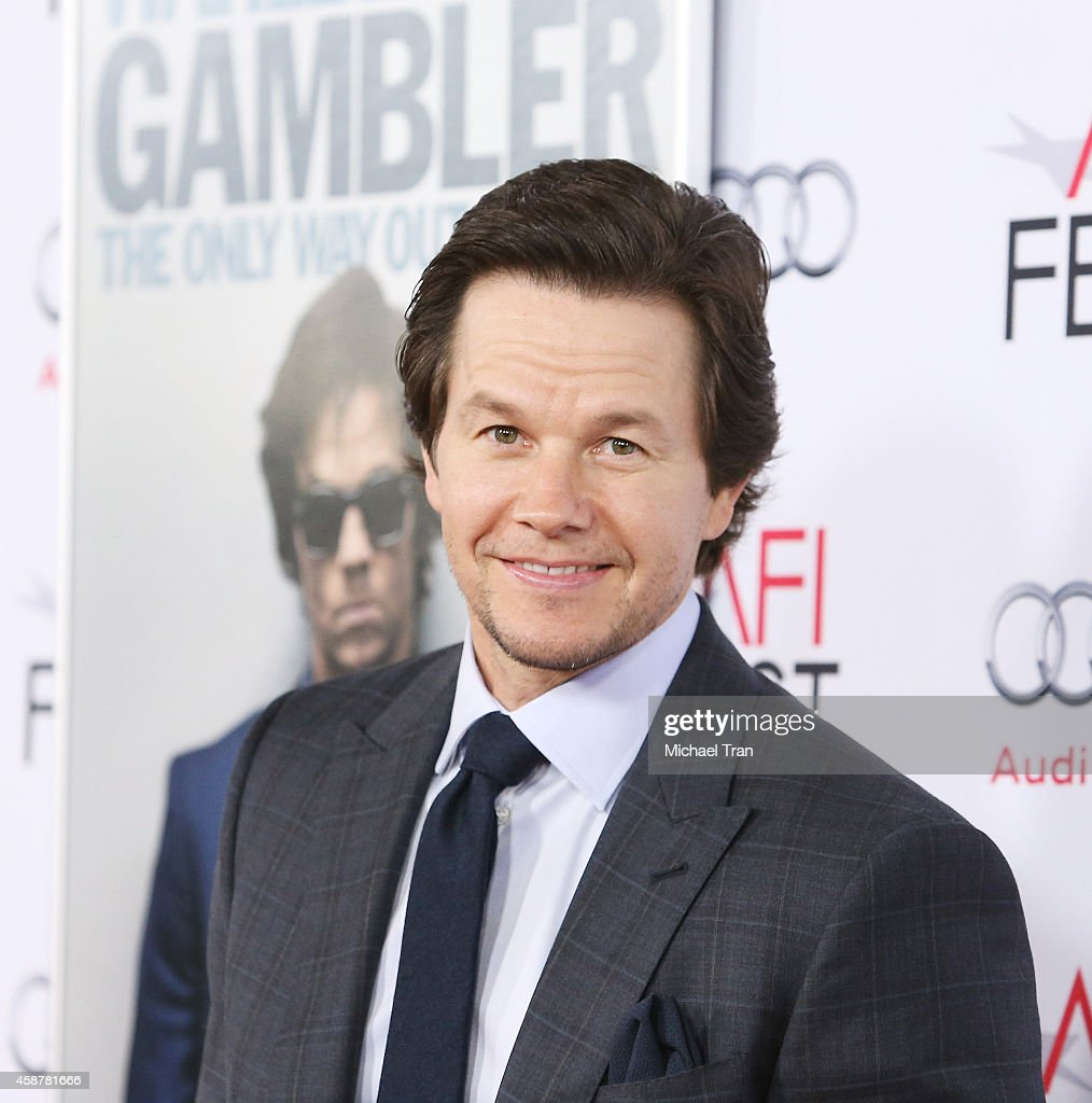 <a gi-track='captionPersonalityLinkClicked' href=/galleries/search?phrase=Mark+Wahlberg&family=editorial&specificpeople=202265 ng-click='$event.stopPropagation()'>Mark Wahlberg</a> arrives at the AFI FEST 2014 presented by Audi - 'The Gambler' premiere held at Dolby Theatre on November 10, 2014 in Hollywood, California.
