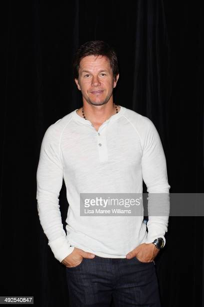 Mark Wahlberg arrives at the 'Transformers Age Of Extinction' footage screening at Event Cinemas George Street on May 21 2014 in Sydney Australia