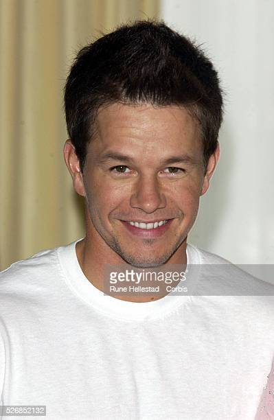 Mark Wahlberg attends a photocall for 'The Italian Job' at Claridge's Hotel