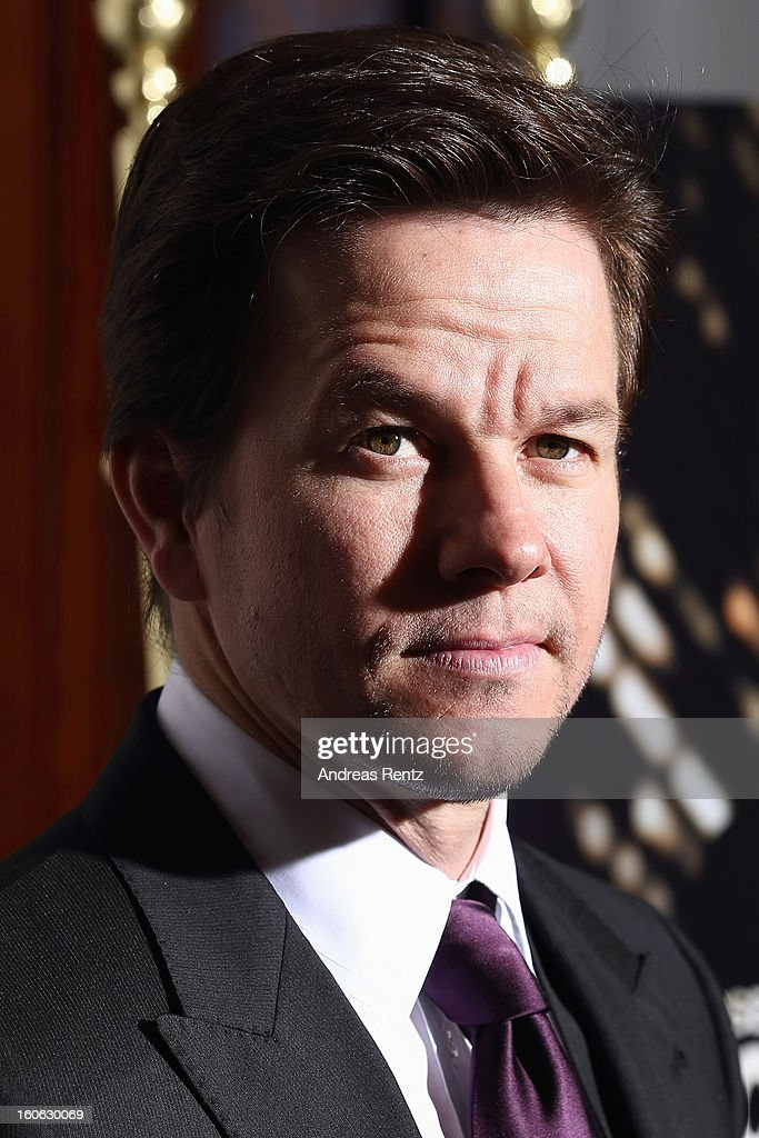 Mark Wahlberg attends a photocall to promote the film 'Broken City' at Ritz Carlton Hotel on February 4, 2013 in Berlin, Germany.