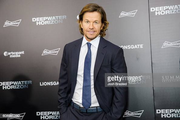 Mark Wahlberg attends the New Orleans premiere of 'Deepwater Horizon' at The Orpheum Theatre on September 19 2016 in New Orleans Louisiana