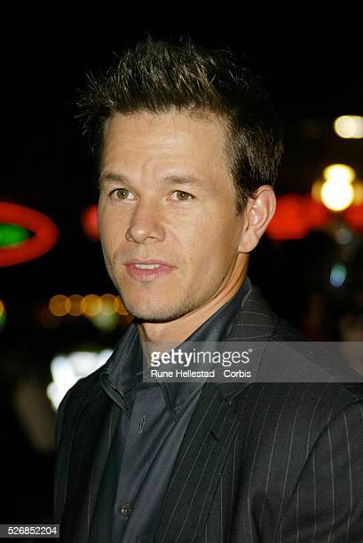 Mark Wahlberg attends the premiere of 'The Italian Job' at the Empire Cinema in Leicester Square