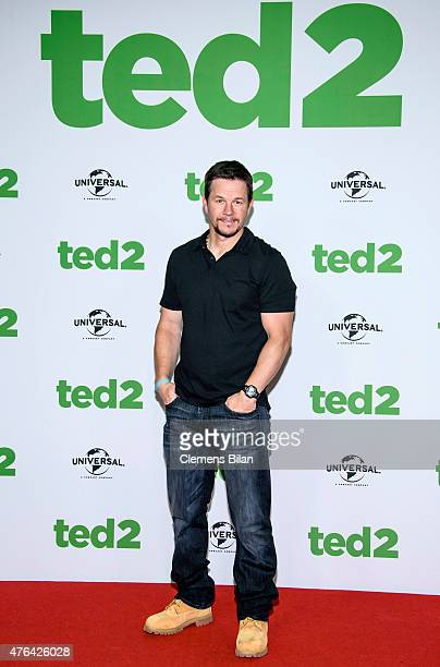Mark Wahlberg attends the 'Ted 2' Berlin Photocall at Ritz Carlton on June 9 2015 in Berlin Germany