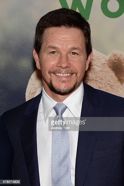Mark Wahlberg attends the 'Ted 2' New York premiere at Ziegfeld Theater on June 24 2015 in New York City