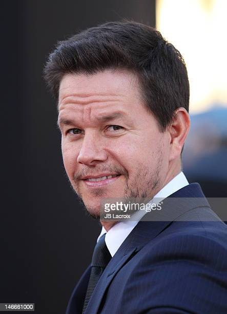 Mark Wahlberg attends the 'Ted' premiere held at Grauman's Chinese Theatre on June 21 2012 in Hollywood California