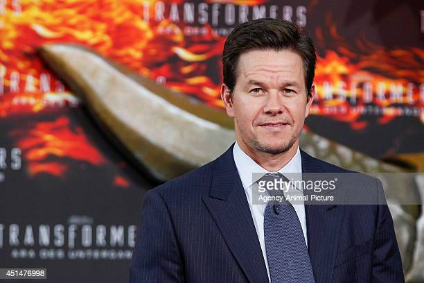 Mark Wahlberg attends the 'Transformers Age of Extinction' Berlin Premiere on June 29 2014 in Berlin Germany