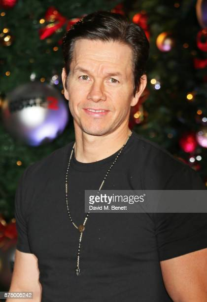 Mark Wahlberg attends the UK Premiere of 'Daddy's Home 2' at the Vue West End on November 16 2017 in London England