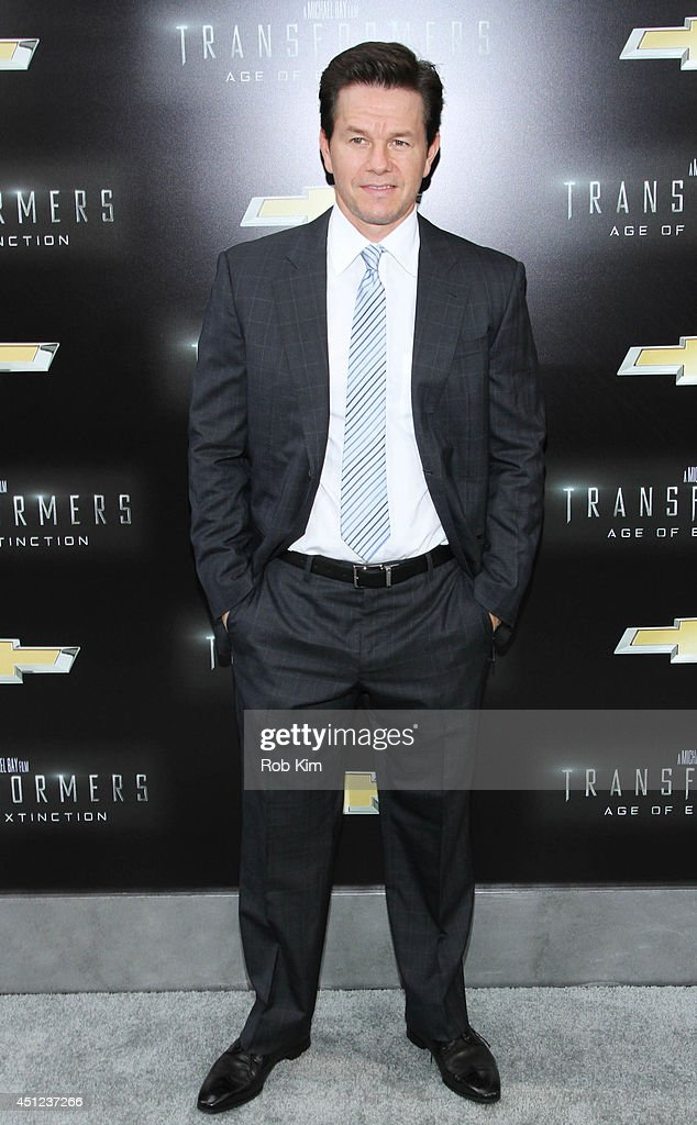 <a gi-track='captionPersonalityLinkClicked' href=/galleries/search?phrase=Mark+Wahlberg&family=editorial&specificpeople=202265 ng-click='$event.stopPropagation()'>Mark Wahlberg</a> attends 'Transformers: Age Of Extinction' New York Premiere at Ziegfeld Theater on June 25, 2014 in New York City.