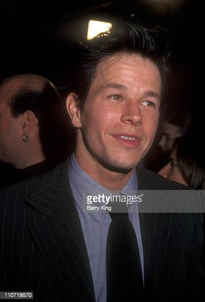 Mark Wahlberg during 'Boogie Nights' Los Angeles Premiere at Mann Chinese Theatre in Hollywood California United States