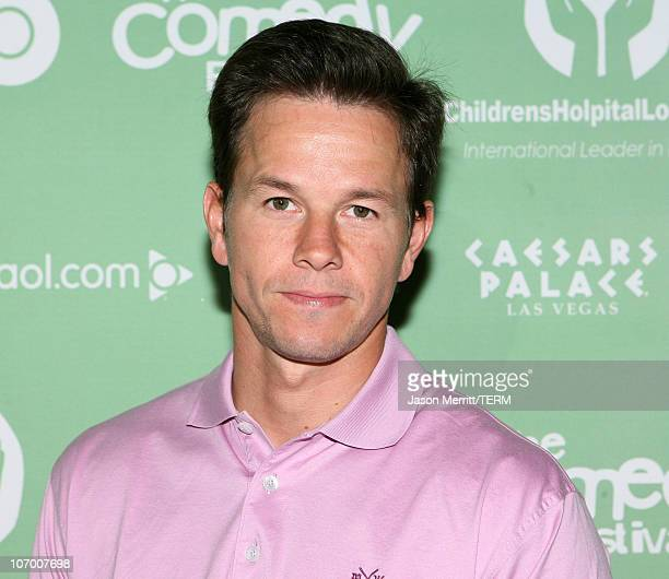 Mark Wahlberg during HBO AEG Live's 'The Comedy Festival' 2nd Annual Comedy Cares Celebrity Poker Tournament Arrivals at Caesars Palace in Las Vegas...