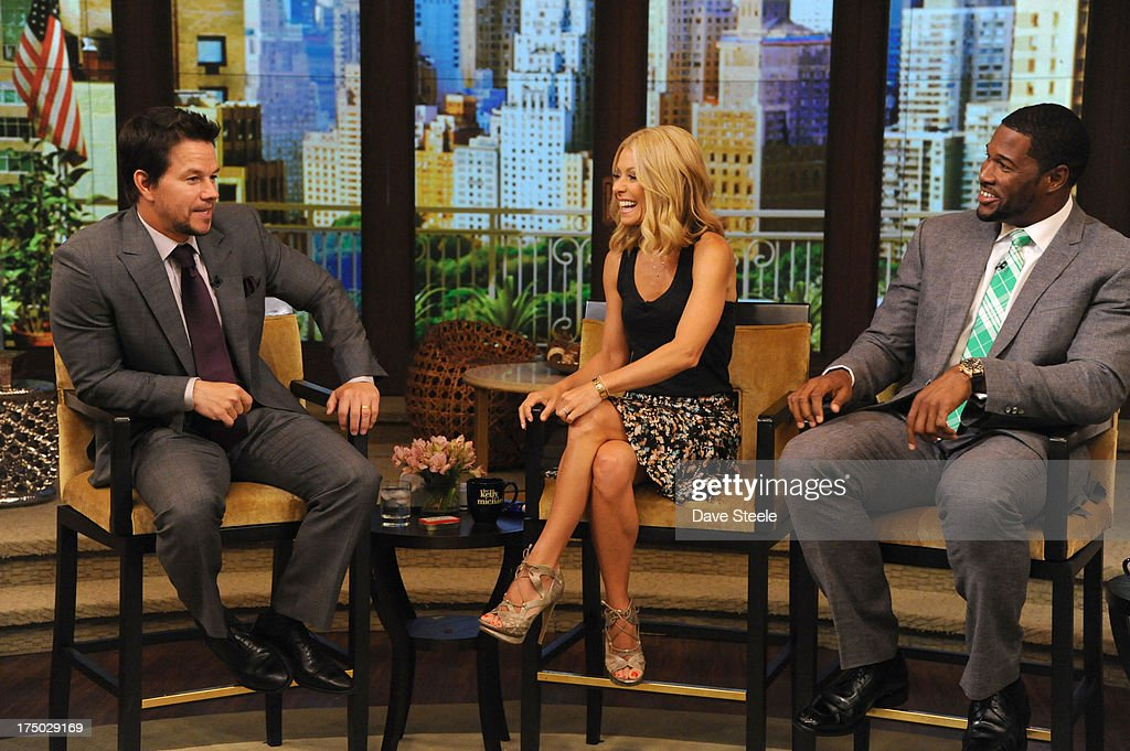 MICHAEL -7/29/13 - Mark Wahlberg is a guest on 'LIVE with Kelly and Michael,' distributed by Disney-ABC Domestic Television. MARK
