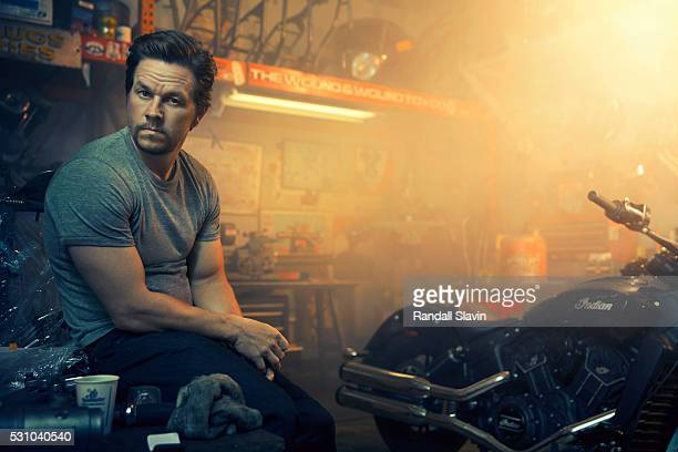 Mark Wahlberg is photographed for Ad Week on February 26 2016 in Hollywood California