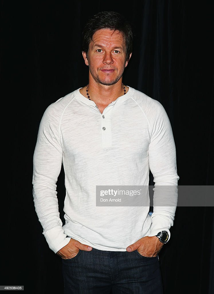 <a gi-track='captionPersonalityLinkClicked' href=/galleries/search?phrase=Mark+Wahlberg&family=editorial&specificpeople=202265 ng-click='$event.stopPropagation()'>Mark Wahlberg</a> poses at the 'Transformers - Age Of Extinction' footage screening at Event Cinemas George Street on May 21, 2014 in Sydney, Australia.