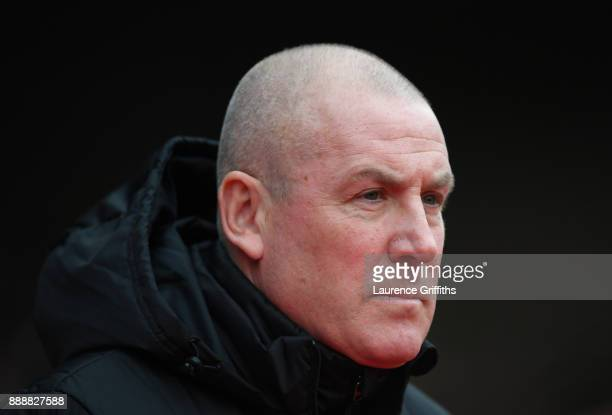 Mark Warburton of Nottingham Forest looks on during the Sky Bet Championship match between Nottingham Forest and Bolton Wanderers at City Ground on...