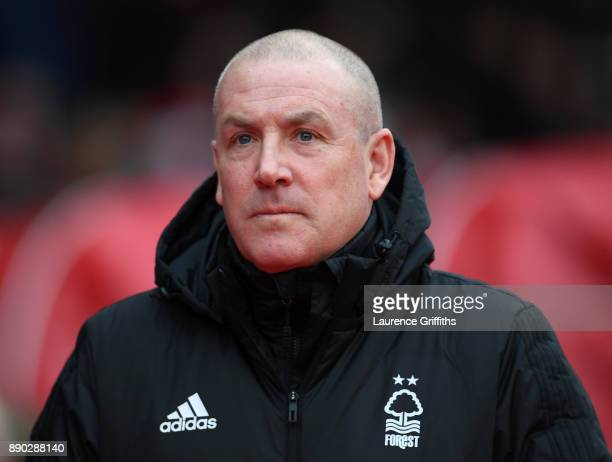 Mark Warburton of Nottingham Forest looks on prior to during the Sky Bet Championship match between Nottingham Forest and Bolton Wanderers at City...