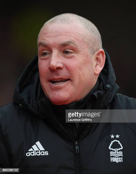 Mark Warburton of Nottingham Forest looks on prior to the Sky Bet Championship match between Nottingham Forest and Bolton Wanderers at City Ground on...