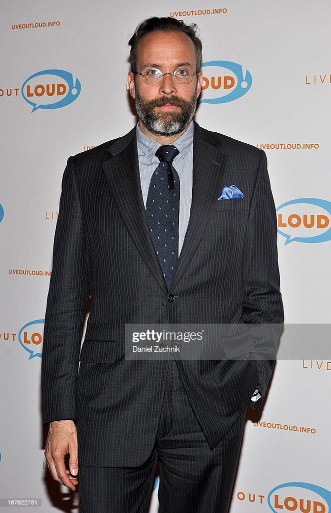 Mark Warren attends the 12th Annual Live Out Loud Gala at The Times Center on April 30, 2013 in New York City.