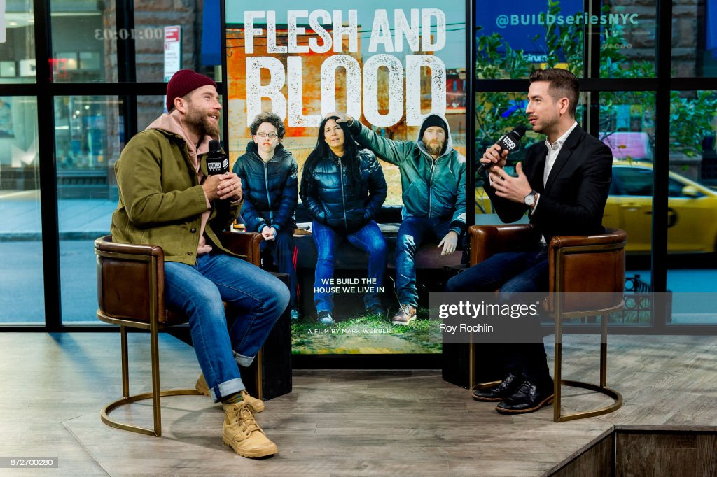 Mark Webber discusses 'Flesh and Blood' with the Build Series at Build Studio on November 10, 2017 in New York City.