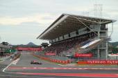 Mark Webber of Australia and Infiniti Red Bull Racing drives during the Korean Formula One Grand Prix at Korea International Circuit on October 6...