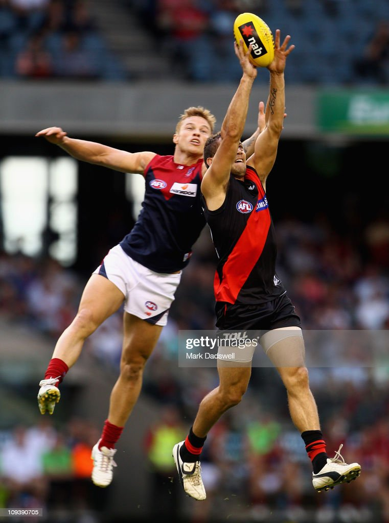 NAB Cup Quarter Final 1 - Melbourne v Essendon