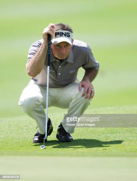 Mark Wilson approaches the fifteenth green during Round 2 of the CIMB Asia Pacific Classic 2011 at the MINES resort and golf club on 28 October 2011...