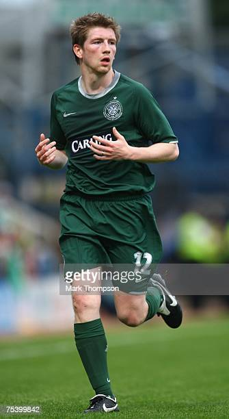 Mark Wilson of Celtic in action during the PreSeason Friendly match between Peterborough United and Celtic at London Road on July 13 in Peterborough...