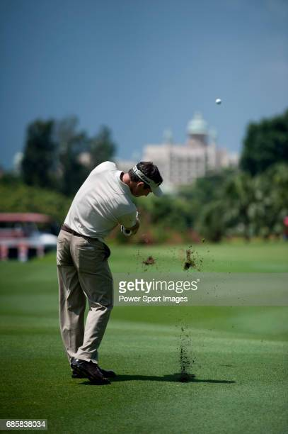 Mark Wilson on the eleventh fairway during the final round of the CIMB Asia Pacific Classic 2011 at the MINES resort and golf club on 30 October 2011...