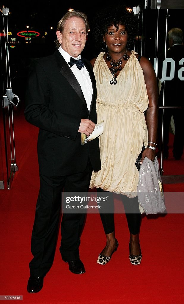 Mark Wingett and his partner Sharon Martin arrive at the UK Premiere of 'The Last King Of Scotland' during the opening gala of The Times BFI London Film Festival, at the Odeon Leicester Square on October 19, 2006 in London, England. The film kicks off the annual film festival, which runs from October 19 to November 2.