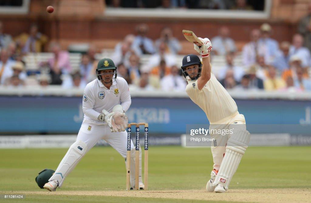 England v South Africa - 1st Investec Test: Day Four : News Photo