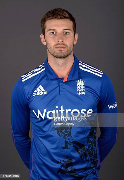 Mark Wood of England poses for a portrait at Edgbaston on June 8 2015 in Birmingham England