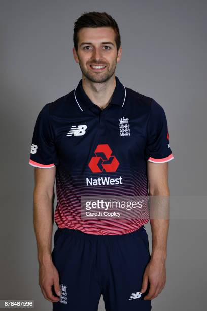 Mark Wood of England poses for a portrait at The Brightside Ground on May 4 2017 in Bristol England