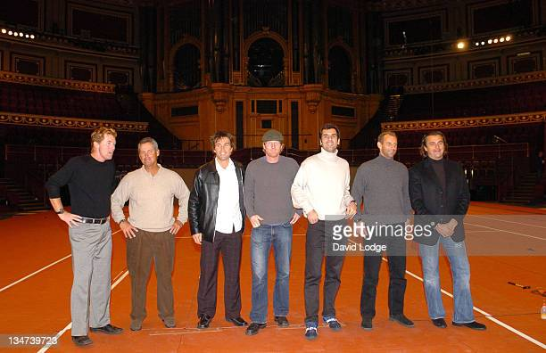 Mark Woodforde Guest Pat Cash Jim Courier Cedric Pioline Thomas Muster and Henri Leconte