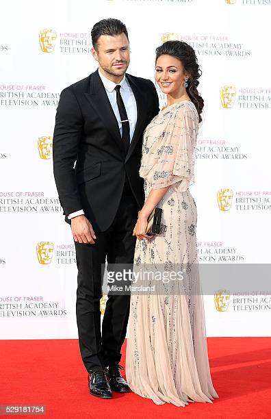 Mark Wright and Michelle Keegan arrive for the House Of Fraser British Academy Television Awards 2016 at the Royal Festival Hall on May 8 2016 in...