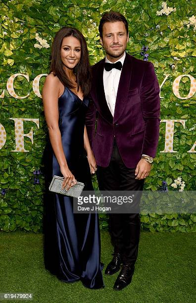Mark Wright and Michelle Keegan attend the Daily Mirror Pride of Britain Awards in Partnership with TSB at The Grosvenor House Hotel on October 31...