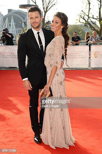 Mark Wright and Michelle Keegan attend the House Of Fraser British Academy Television Awards 2016 at the Royal Festival Hall on May 8 2016 in London...