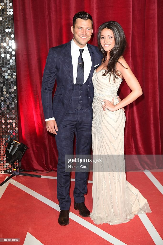 Mark Wright and <a gi-track='captionPersonalityLinkClicked' href=/galleries/search?phrase=Michelle+Keegan&family=editorial&specificpeople=4957673 ng-click='$event.stopPropagation()'>Michelle Keegan</a> attends The British Soap Awards 2013 at Media City on May 18, 2013 in Manchester, England.