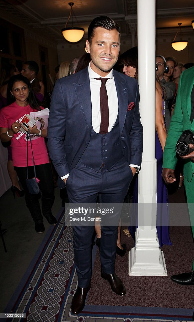 Mark Wright arrives at The Inspiration Awards For Women 2012 at Cadogan Hall on October 3, 2012 in London, England.